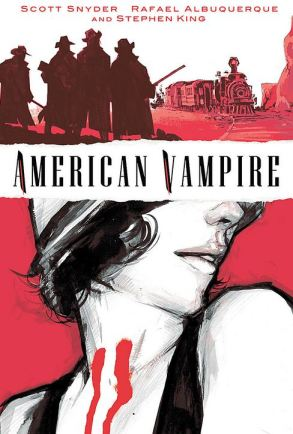 American Vampire volume one cover